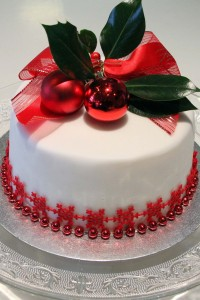 Children's Christmas Cake